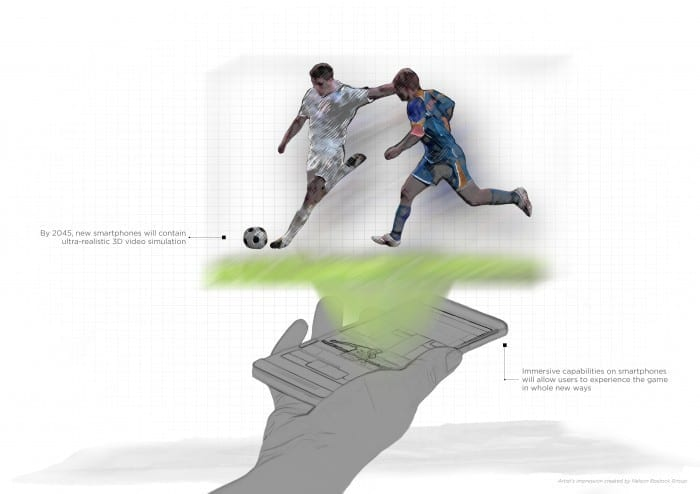 HTC The Future of Football Publicitates Attels 2